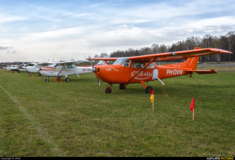 Private PH-DVW aircraft at Rybnik - Gotartowice