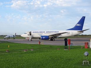 LV-BYY - Aerolineas Argentinas Boeing 737-700