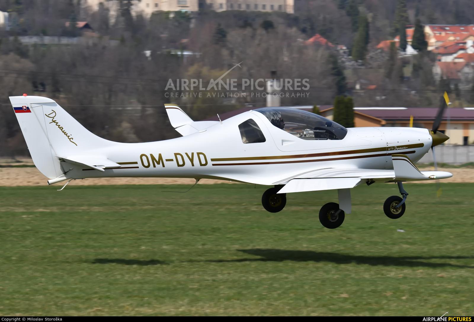 Private OM-DYD aircraft at Prievidza