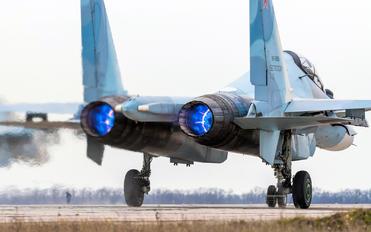 RF-93656 - Russia - Air Force Sukhoi Su-30SM