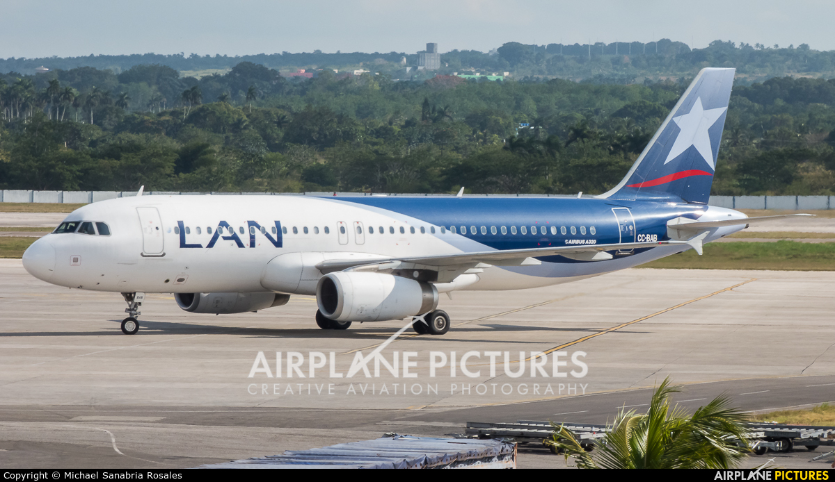 LAN Airlines CC-BAB aircraft at Havana - José Martí Intl