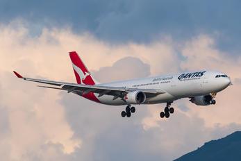 VH-QPE - QANTAS Airbus A330-300