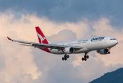 VH-QPE - QANTAS Airbus A330-300 aircraft