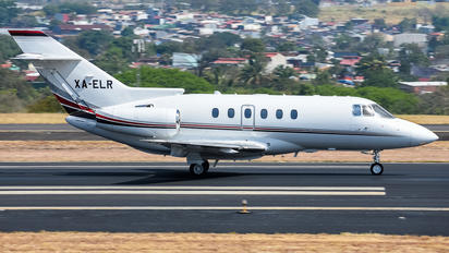 XA-ELR - Private Raytheon Hawker 800XP