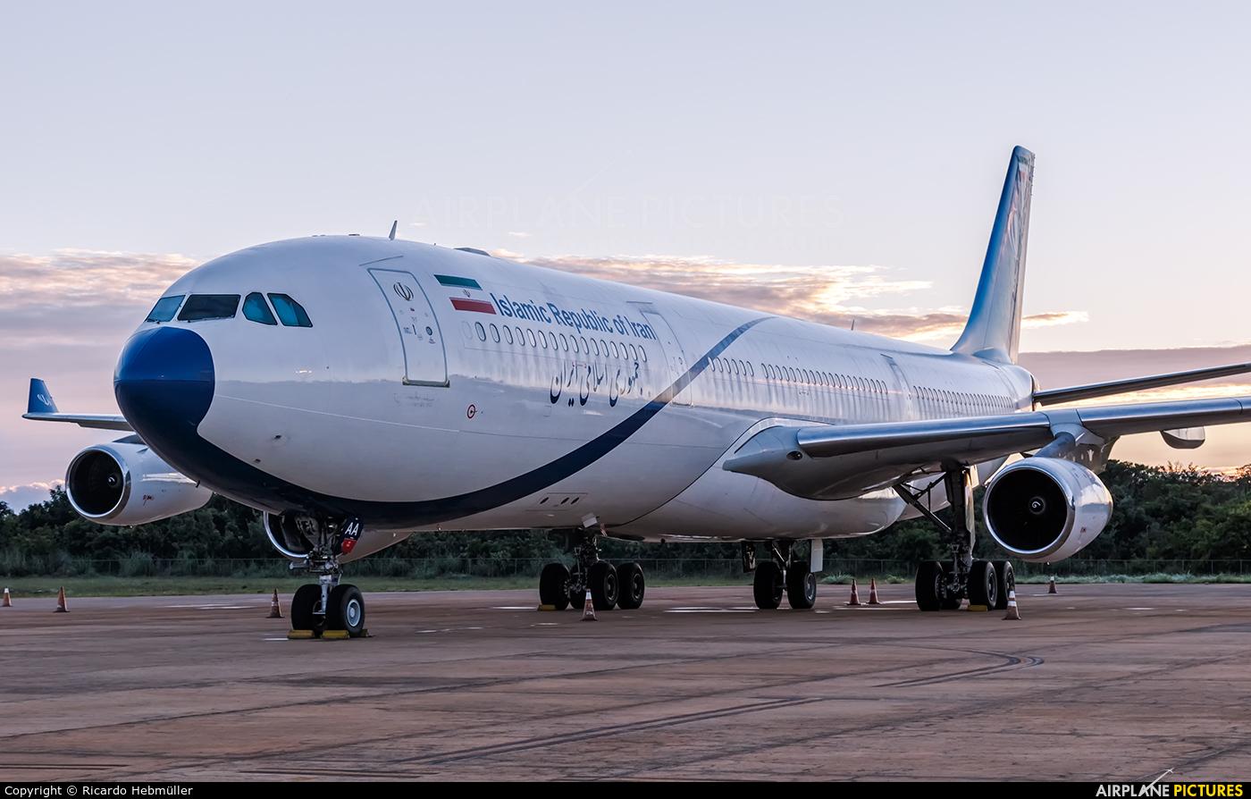 Iran - Government EP-DAA aircraft at Brasília - Presidente Juscelino Kubitschek Intl