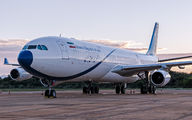 Airbus A340 arrived to Brazil with Iranian officials title=
