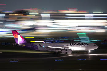 N383HA - Hawaiian Airlines Airbus A330-200