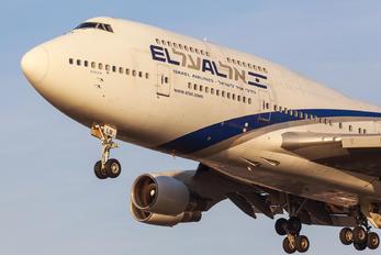 4X-ELB - El Al Israel Airlines Boeing 747-400