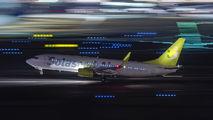 JA804X - Solaseed Air - Skynet Asia Airways Boeing 737-800 aircraft