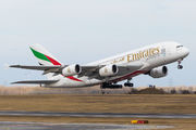 A6-EDD - Emirates Airlines Airbus A380 aircraft