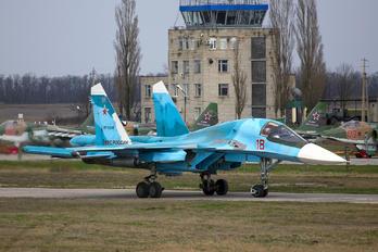 18 - Russia - Air Force Sukhoi Su-34
