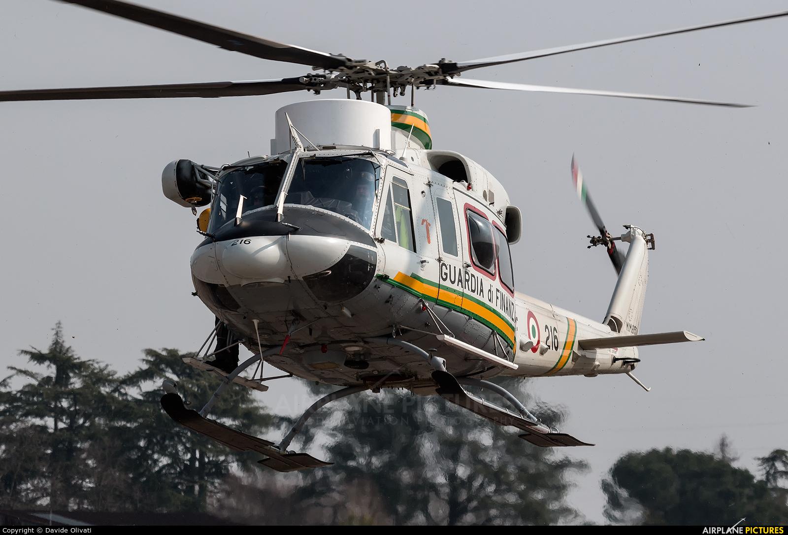 Italy - Guardia di Finanza MM81504 aircraft at Verona - Boscomantico