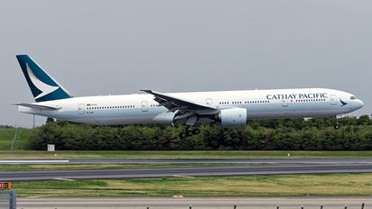 B-HNF - Cathay Pacific Boeing 777-300