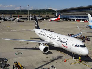 HB-IJM - Swiss Airbus A320