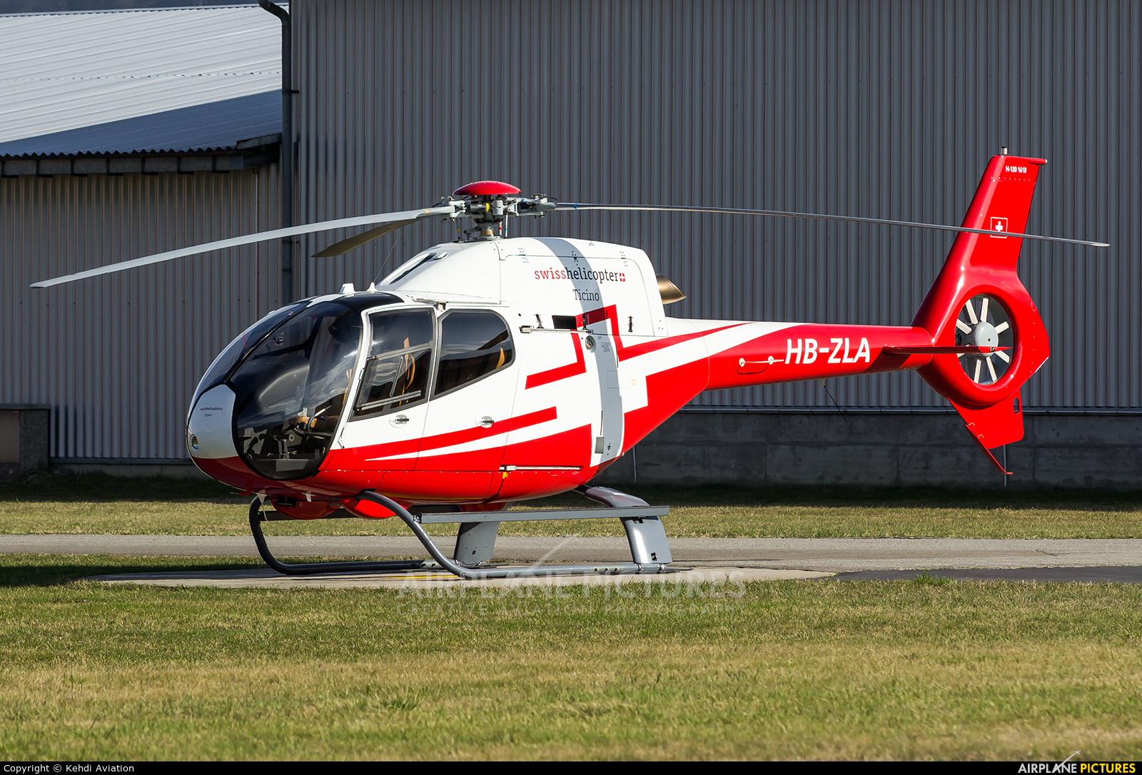 Bonsai Helikopter AG / Würth Leasing AG HB-ZLA aircraft at Locarno