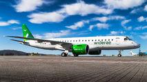 First Embraer E190 E2 for Wideroe title=