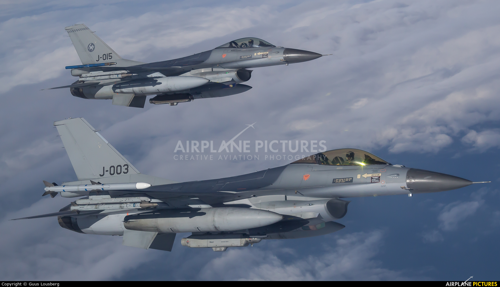 Netherlands - Air Force J-003 aircraft at In Flight - Netherlands