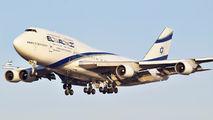 4X-ELB - El Al Israel Airlines Boeing 747-400 aircraft