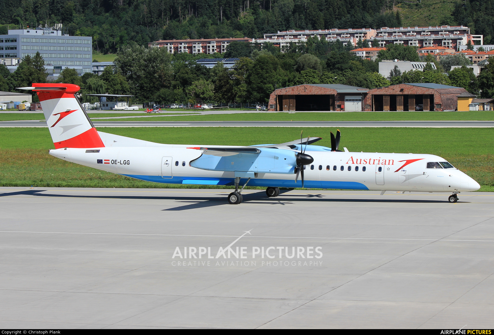 Austrian Airlines/Arrows/Tyrolean OE-LGG aircraft at Innsbruck