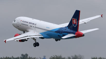 OM-BYK - Slovakia - Government Airbus A319 CJ
