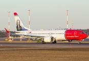 EI-FYC - Norwegian Air International Boeing 737-8 MAX aircraft