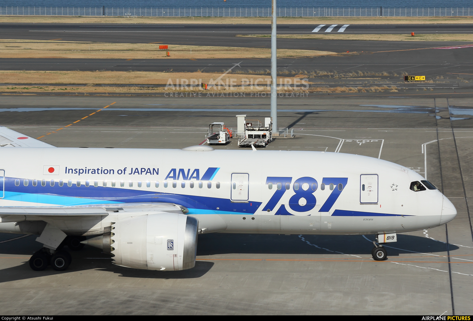 ANA - All Nippon Airways JA819A aircraft at Tokyo - Haneda Intl