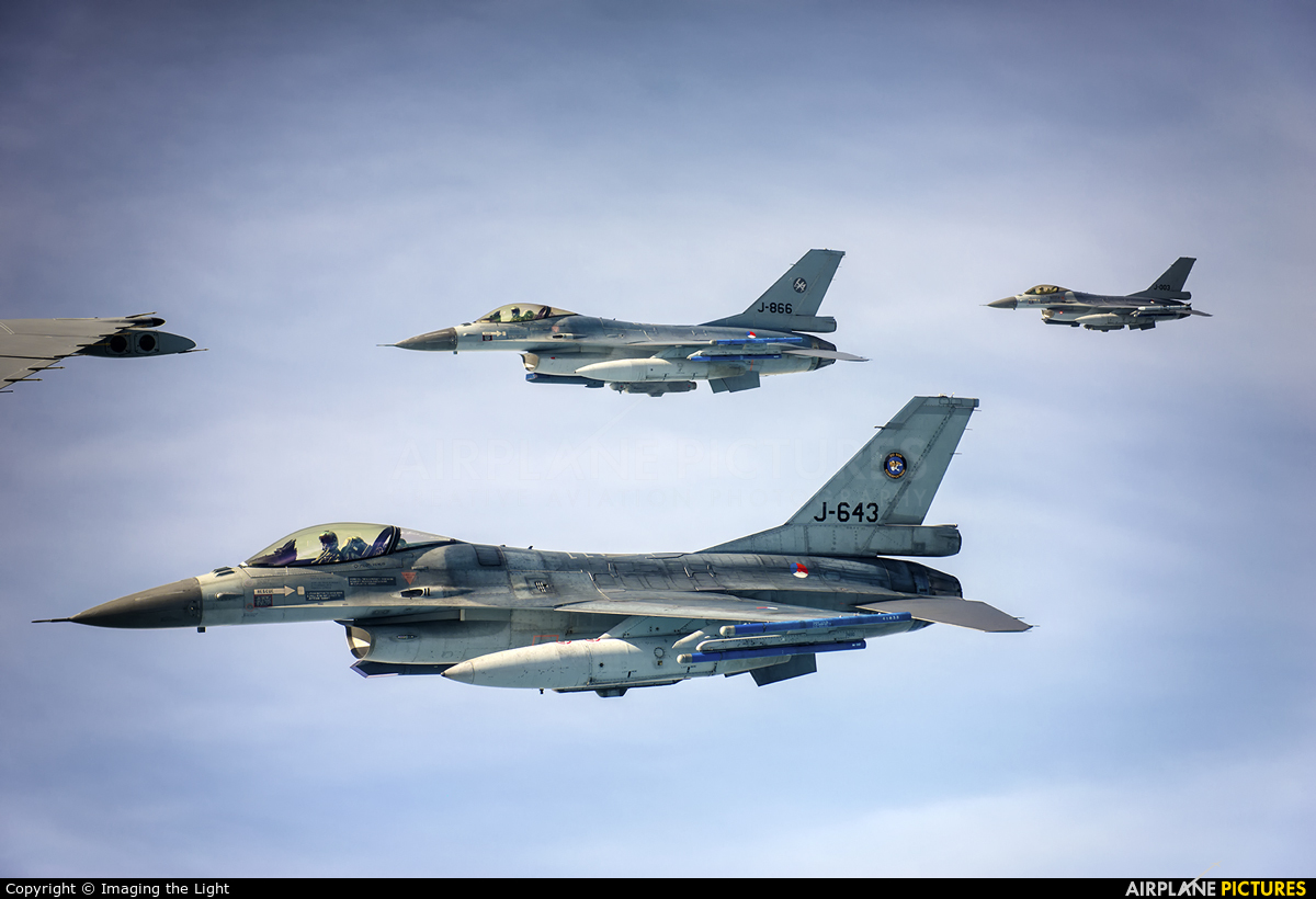 Netherlands - Air Force J-643 aircraft at In Flight - Netherlands