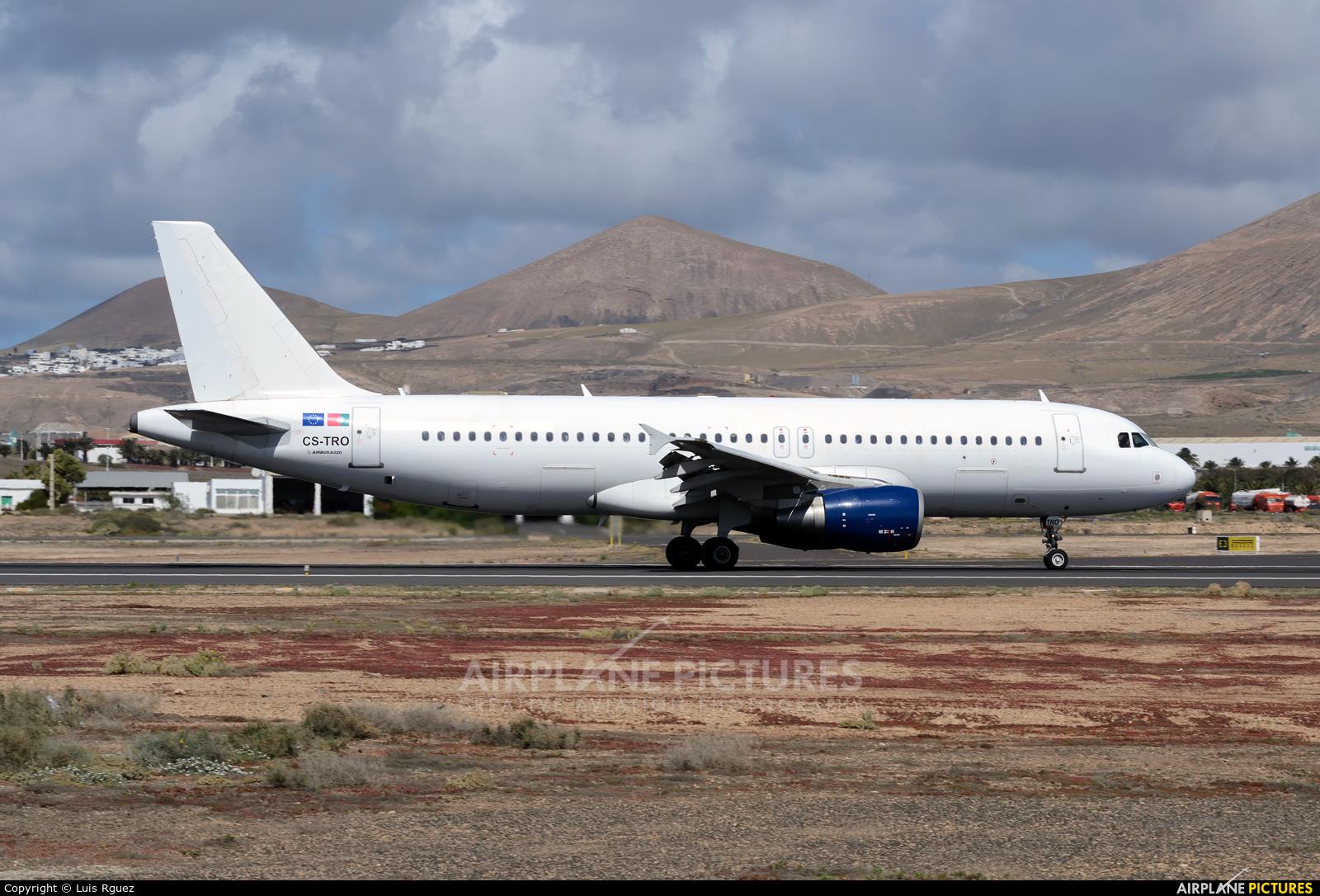 White Airways CS-TRO aircraft at Lanzarote - Arrecife