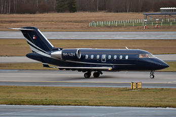 9H-LDV - Private Canadair CL-600 Challenger 605