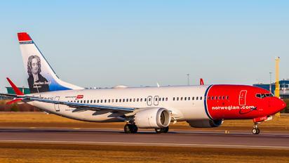 EI-FYC - Norwegian Air International Boeing 737-8 MAX