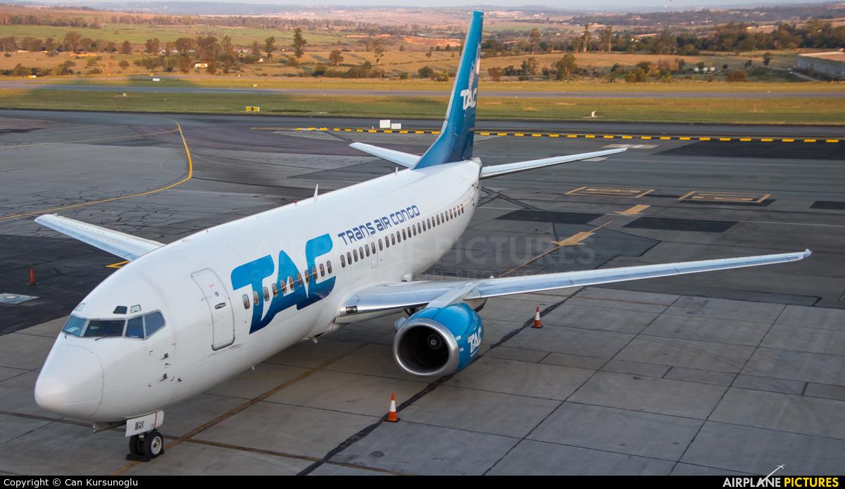 Trans Air Congo TN-MAN aircraft at Lanseria