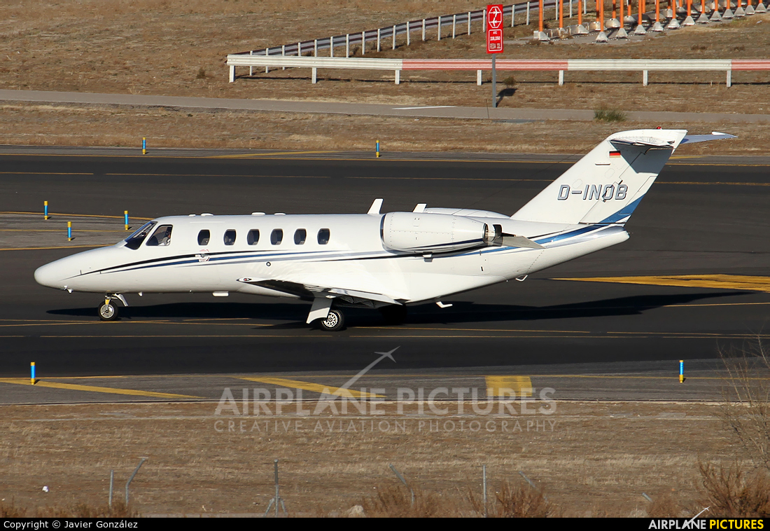 Atlas Air Serice D-INOB aircraft at Madrid - Barajas