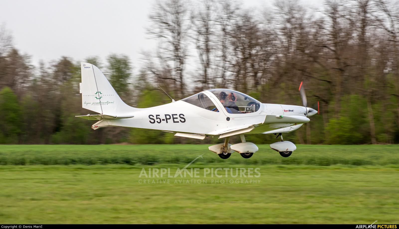 Aeroklub Murska Sobota S5-PES aircraft at Murska Sobota