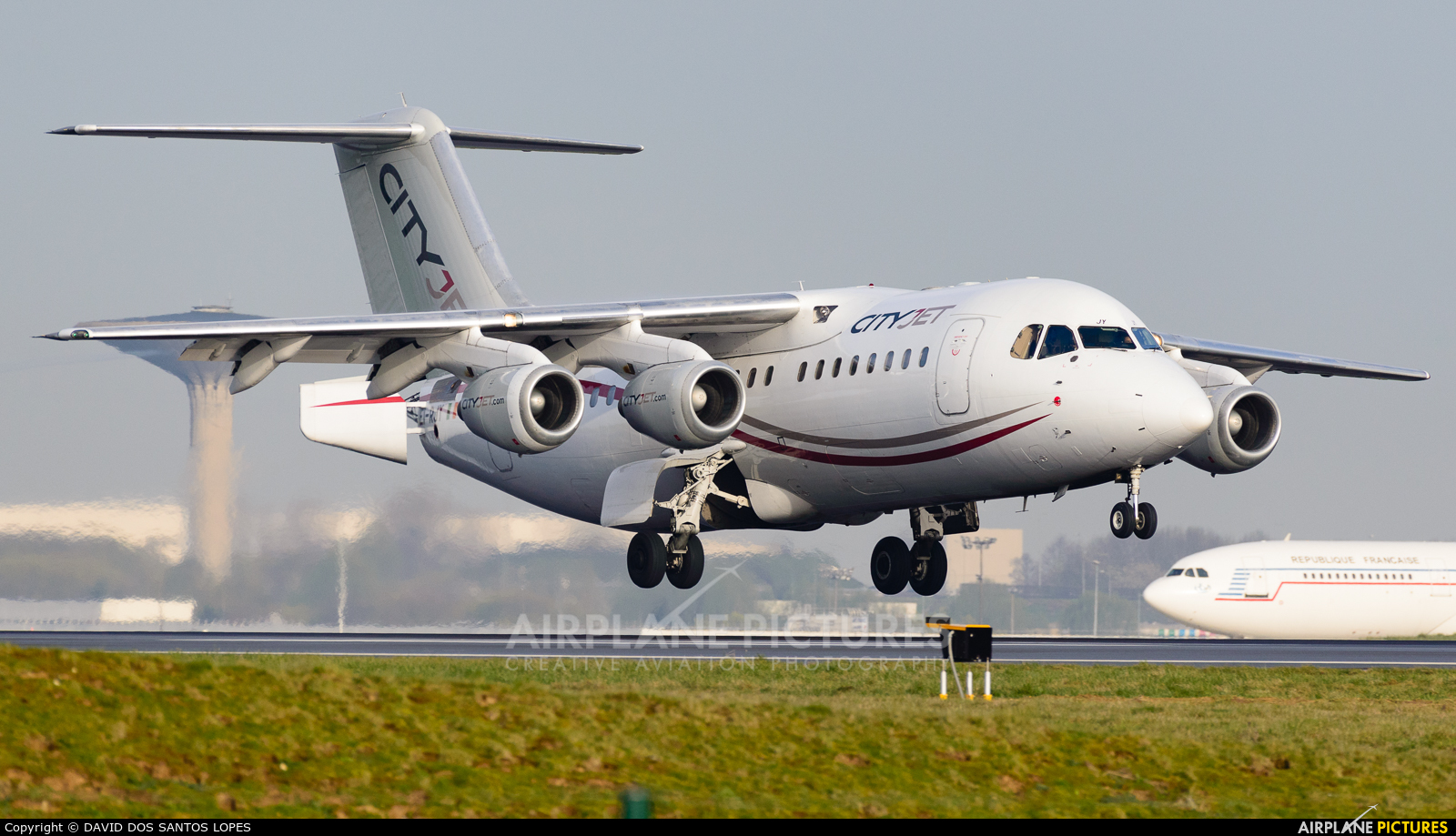 CityJet EI-RJY aircraft at Paris - Charles de Gaulle