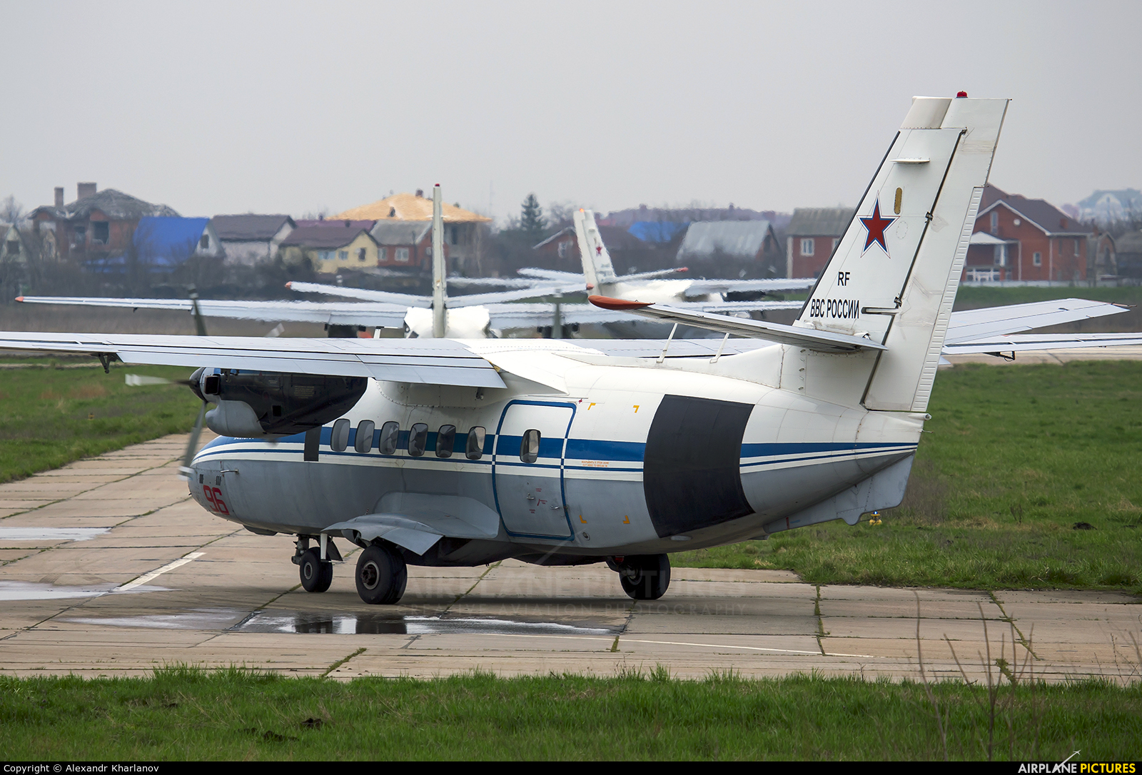 Russia - Air Force 96 aircraft at Krasnodar Tsentralny