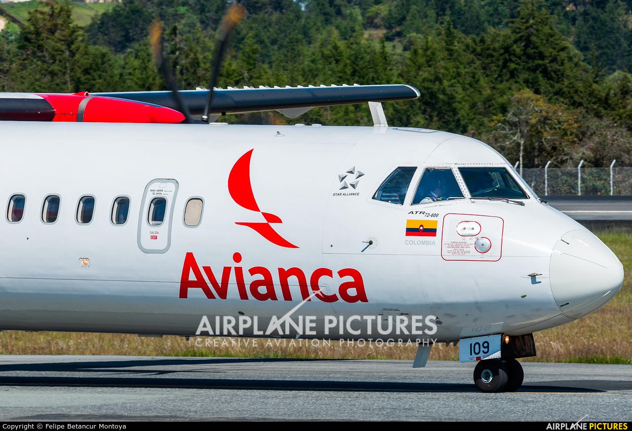 Avianca HK-5109 aircraft at Medellin - Jose Maria Cordova Intl