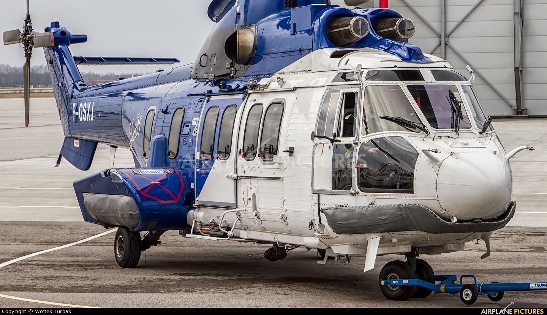 Bristow Helicopters F-GSXJ aircraft at Rzeszów-Jasionka
