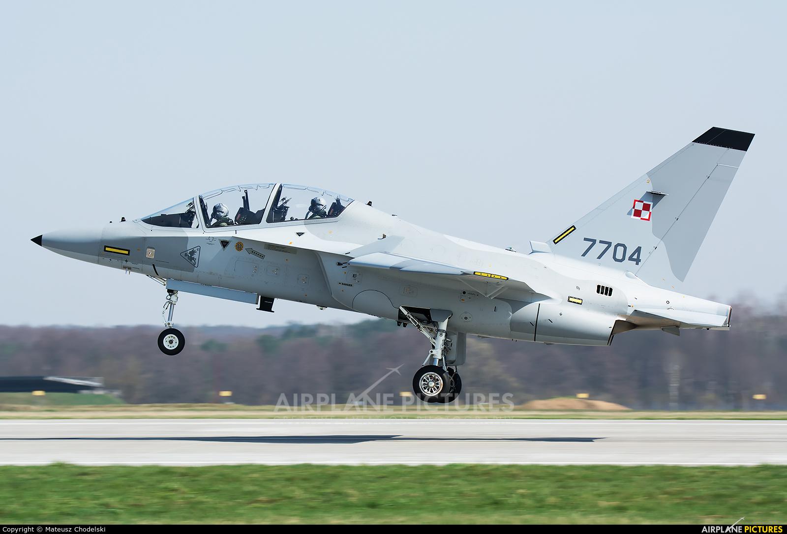 Poland - Air Force 7704 aircraft at Dęblin