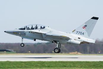 7704 - Poland - Air Force Leonardo- Finmeccanica M-346 Master/ Lavi/ Bielik