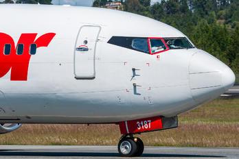 YV3187 - Avior Airlines Boeing 737-400
