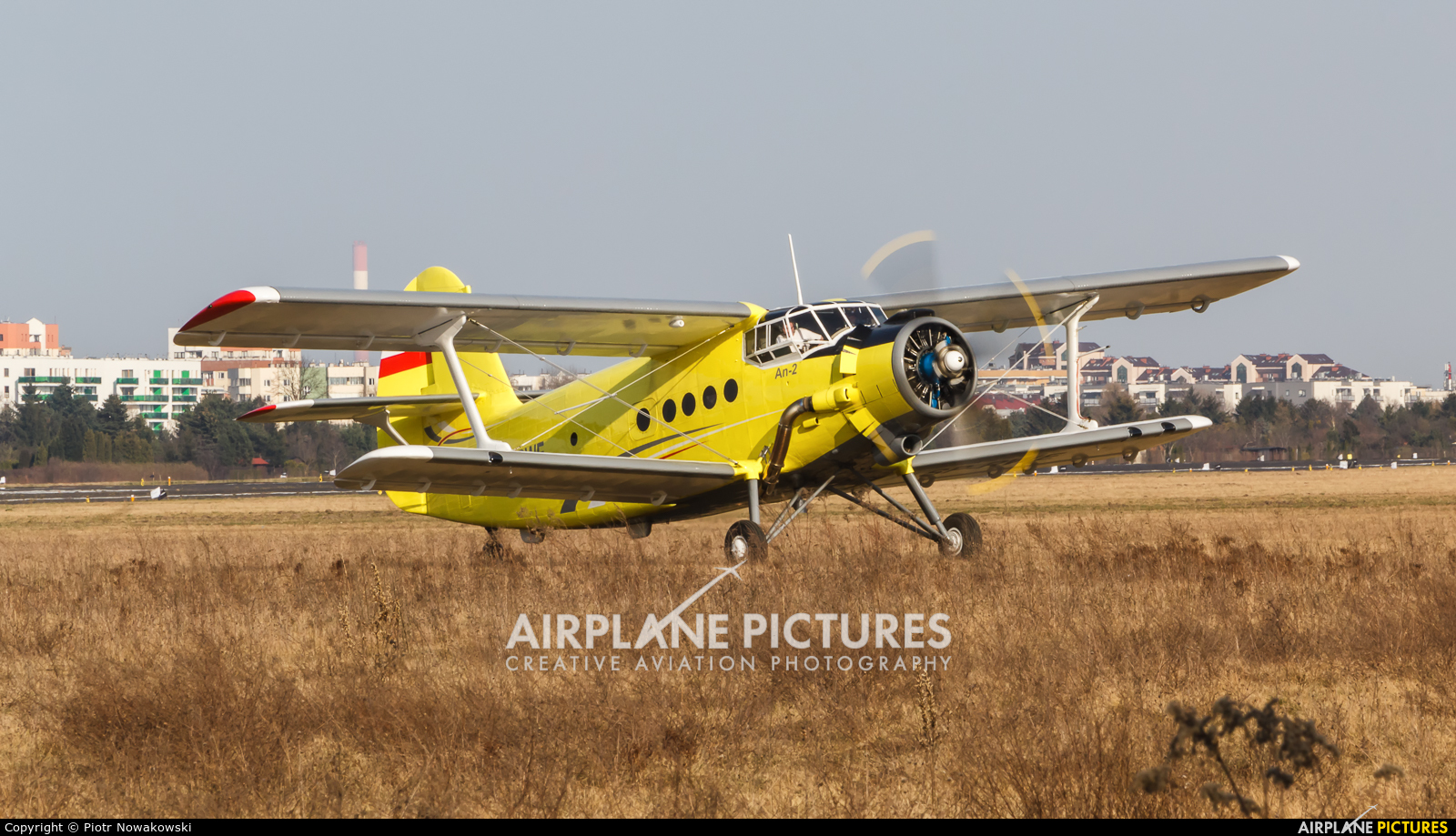Private SP-RWE aircraft at Warsaw - Babice