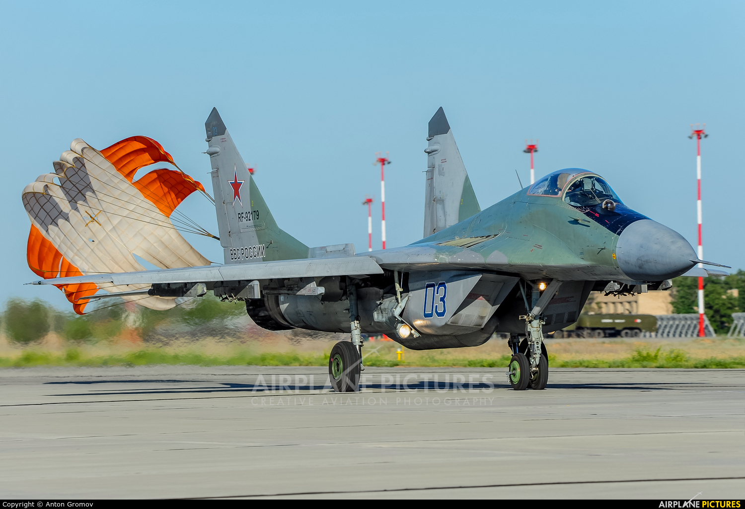 Russia - Air Force RF-92179 aircraft at Astrakhan - Privolzhkiy Air Base