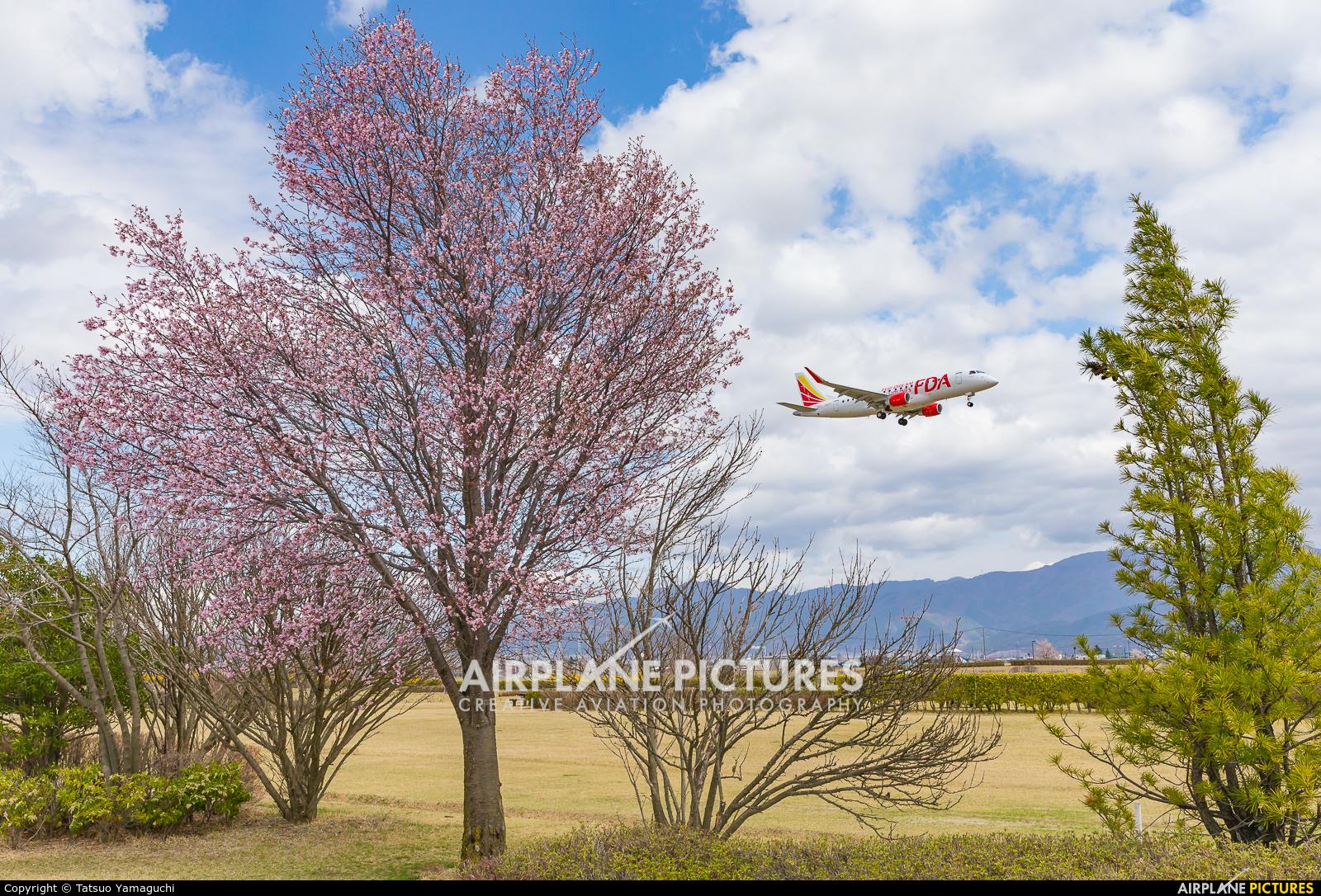 Fuji Dream Airlines JA12FJ aircraft at Shinshu - Matsumoto