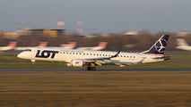 SP-LNE - LOT - Polish Airlines Embraer ERJ-195 (190-200) aircraft