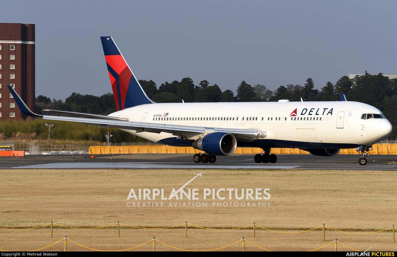 Delta Air Lines N197DN aircraft at Tokyo - Narita Intl