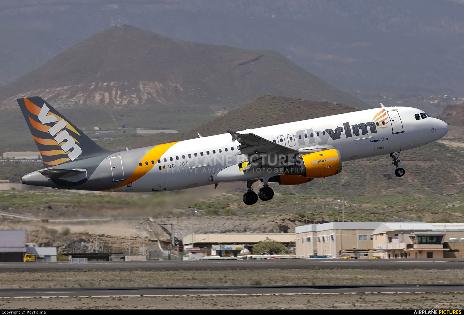 VLM Airlines OO-TCT aircraft at Tenerife Sur - Reina Sofia