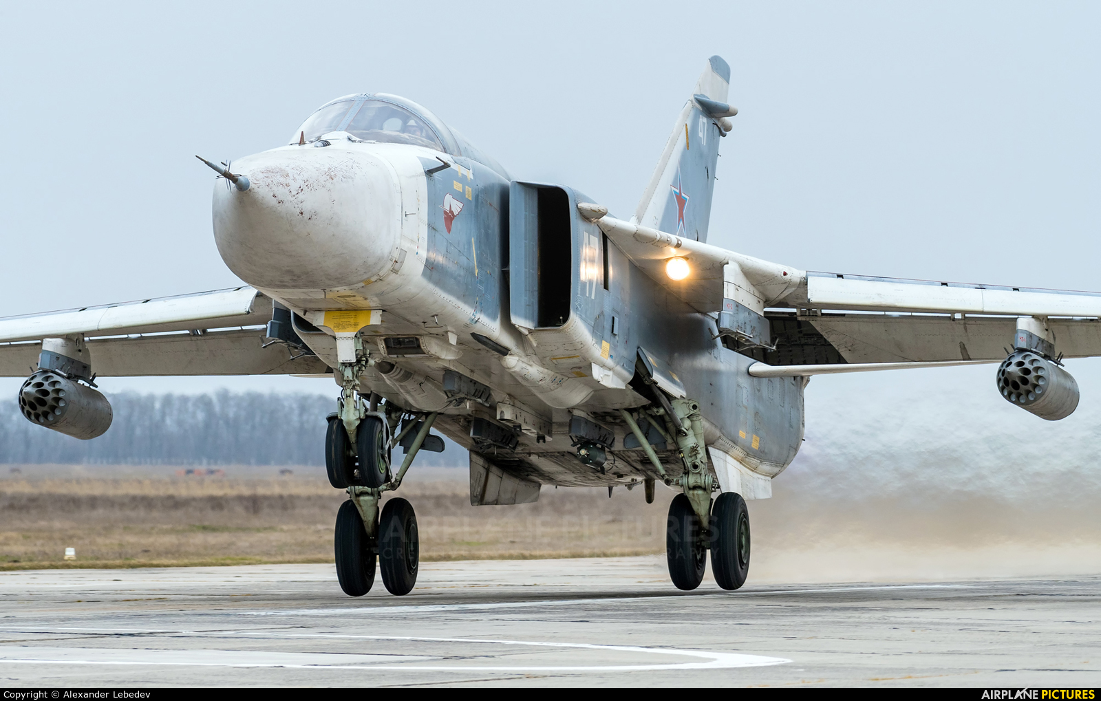 Russia - Air Force 47 aircraft at Undisclosed location