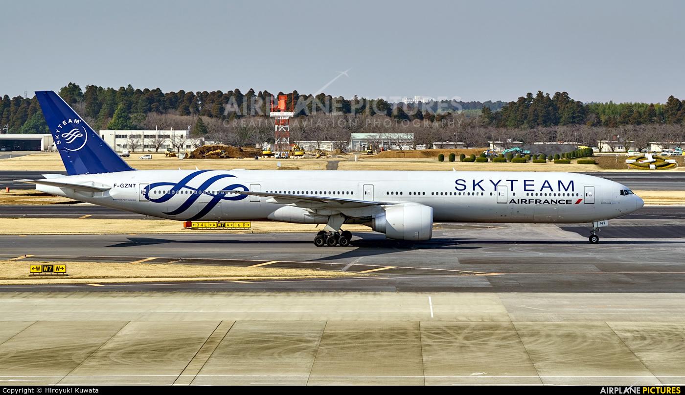 Air France F-GZNT aircraft at Tokyo - Narita Intl