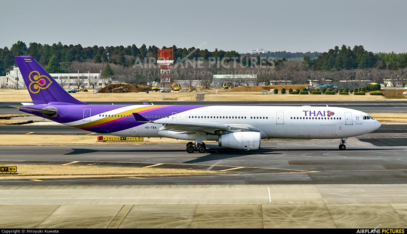 Thai Airways HS-TBA aircraft at Tokyo - Narita Intl