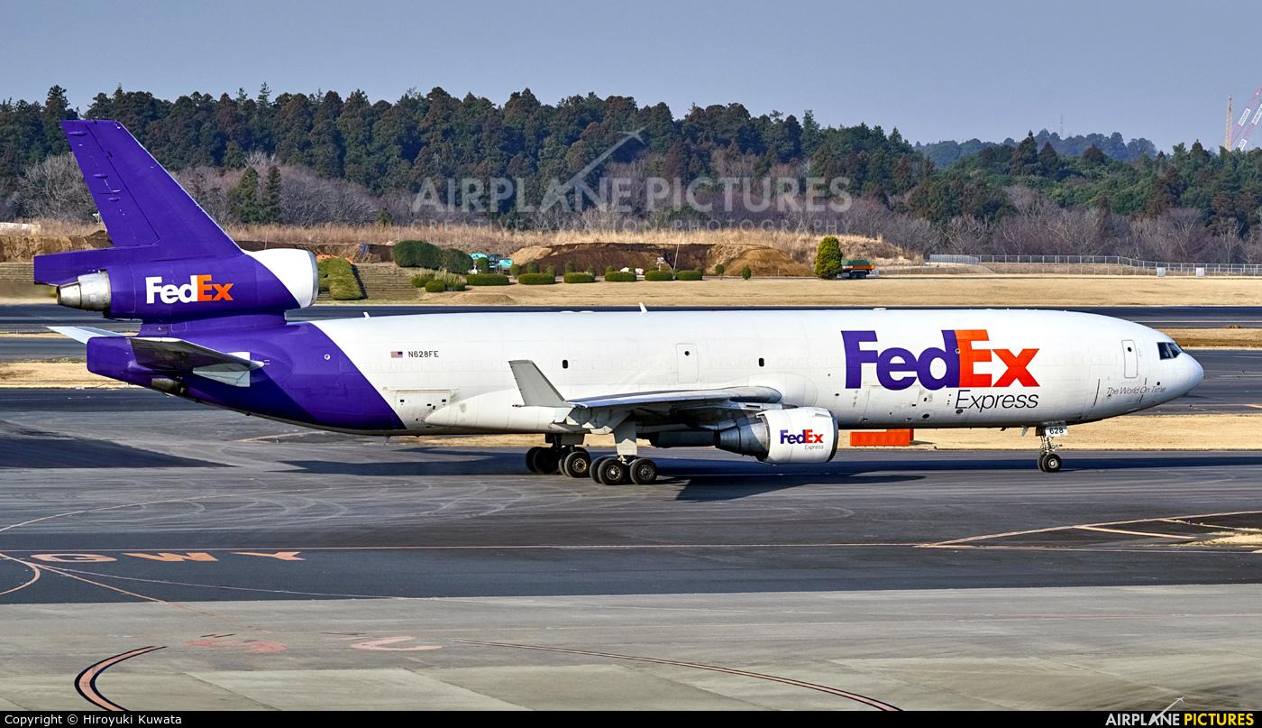FedEx Federal Express N628FE aircraft at Tokyo - Narita Intl